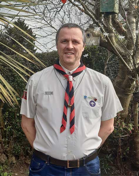 Brian Thornhill.'-'.Scout Leader
