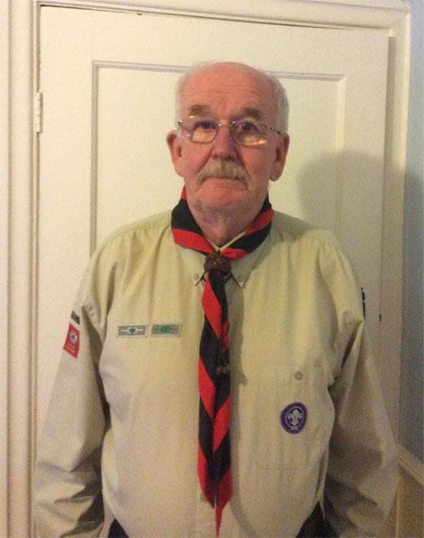Steve Winnard.'-'.Group Scout Leader
