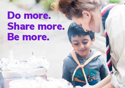 volunteer do more