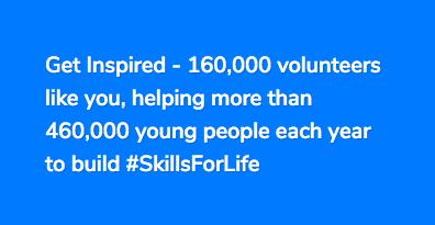 volunteer get inspired